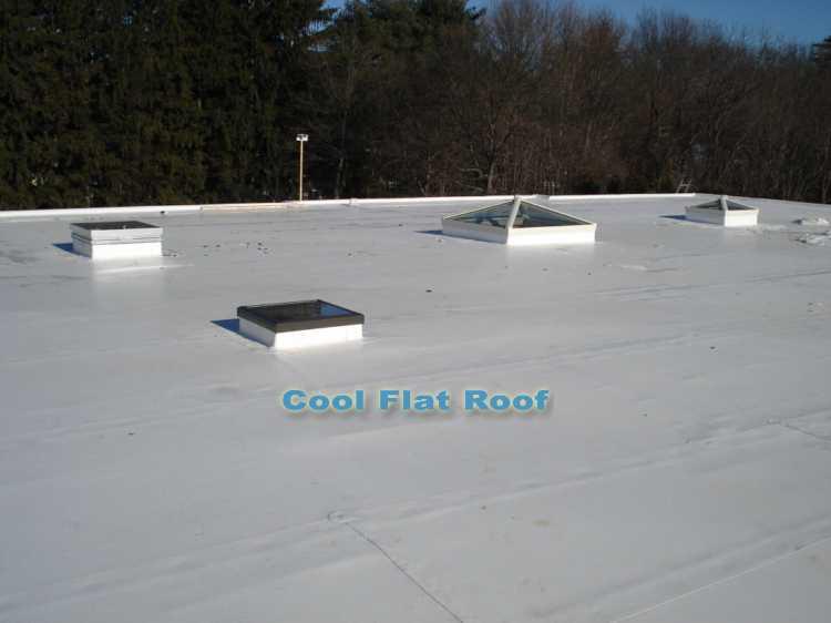 Flat roofing - Lexington, Mass.