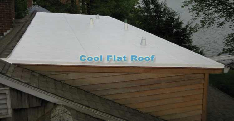 Flat roof on shed dormer