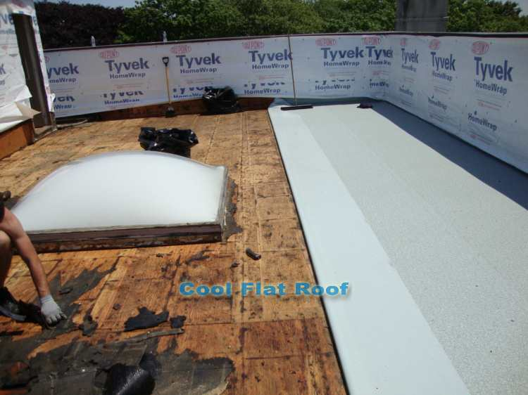 Roof Deck Ib Deck Shield A Beautiful Watertight Solution For
