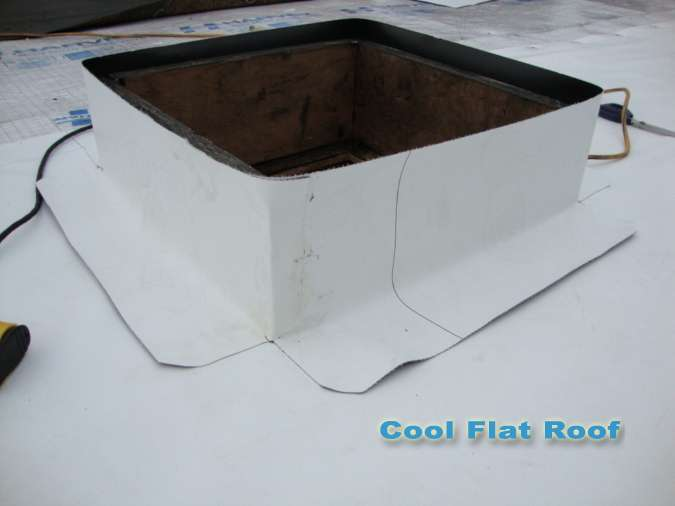 Flat Roof Installation Cool Flat Roof