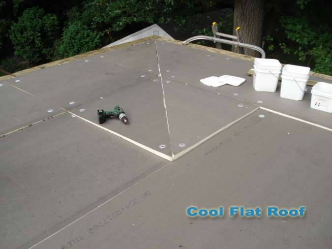 Connecticut Roofing Cool Flat Roof