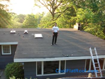 Roofing Jobs In Connecticut. 80 Mil IB Flat Roof In Wallingford, CT
